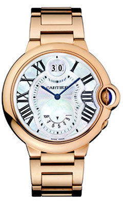 Cartier,Cartier - Ballon Bleu 38mm - Pink Gold - Watch Brands Direct