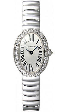 Cartier,Cartier - Baignoire Mini - White Gold - Watch Brands Direct