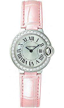 Cartier,Cartier - Ballon Bleu 28mm - White Gold - Watch Brands Direct