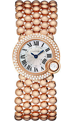 Cartier,Cartier - Ballon Blanc de Cartier 24mm - Pink Gold - Watch Brands Direct
