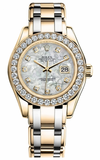 Rolex - Datejust Pearlmaster Lady Tridor - 32 Diamond Bezel - Watch Brands Direct  - 2