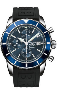 Breitling,Breitling - Superocean Heritage Chronographe 46 Diver Pro III Strap - Watch Brands Direct