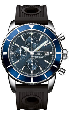 Breitling,Breitling - Superocean Heritage Chronographe 46 Ocean Racer Strap - Watch Brands Direct