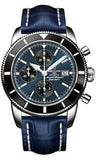Breitling,Breitling - Superocean Heritage Chronographe 46 Croco Strap - Watch Brands Direct