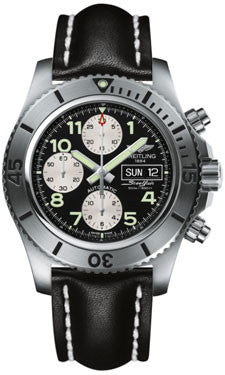 Breitling,Breitling - Superocean Chronograph Steelfish Leather Strap - Watch Brands Direct