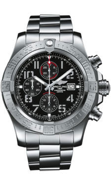 Breitling,Breitling - Super Avenger II Stainless Steel Bracelet - Watch Brands Direct