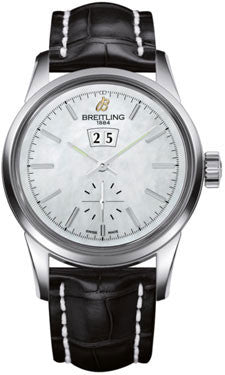 Breitling,Breitling - Transocean 38 Croco Strap - Watch Brands Direct