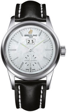 Breitling,Breitling - Transocean 38 Leather Strap - Watch Brands Direct