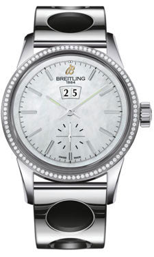 Breitling,Breitling - Transocean 38 Diamond Bezel - Air Racer Bracelet - Watch Brands Direct