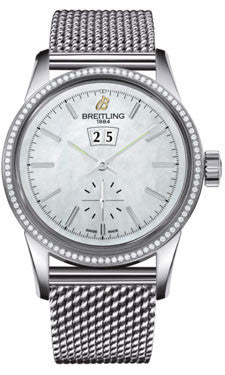 Breitling,Breitling - Transocean 38 Diamond Bezel - Ocean Classic Bracelet - Watch Brands Direct
