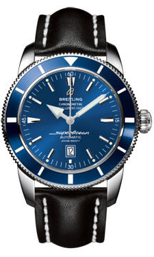 Breitling,Breitling - Superocean Heritage 46 Leather Strap - Watch Brands Direct