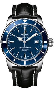 Breitling,Breitling - Superocean Heritage 42 Croco Strap - Watch Brands Direct