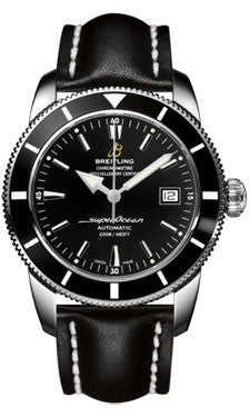 Breitling - Superocean Heritage 42 Leather Strap – Watch Brands ... e9d266f97