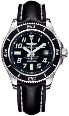 Breitling,Breitling - Superocean 42 Leather Strap - Watch Brands Direct
