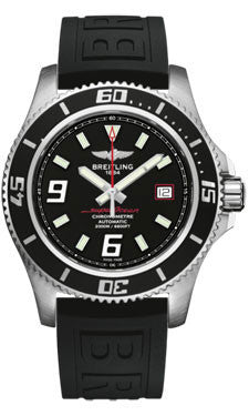 Breitling,Breitling - Superocean 44 Satin Steel - Diver Pro III Strap - Watch Brands Direct