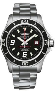 Breitling,Breitling - Superocean 44 Satin Steel - Professional Bracelet - Watch Brands Direct