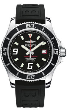 Breitling,Breitling - Superocean 44 Polished Steel - Diver Pro III Strap - Watch Brands Direct