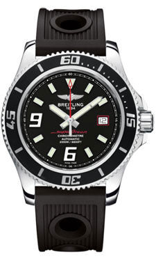 Breitling,Breitling - Superocean 44 Polished Steel - Ocean Racer Strap - Watch Brands Direct