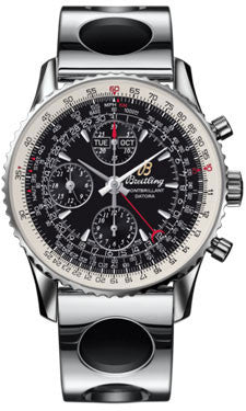 Breitling,Breitling - Montbrillant Datora Stainless Steel - Watch Brands Direct