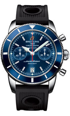 Breitling,Breitling - Superocean Heritage Chronographe 44 Ocean Racer Strap - Watch Brands Direct