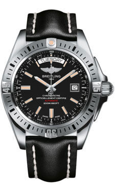 Breitling,Breitling - Galactic 44 Leather Strap - Watch Brands Direct
