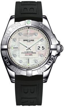 Breitling,Breitling - Galactic 41 Stainless Steel - Diver Pro III Strap - Watch Brands Direct