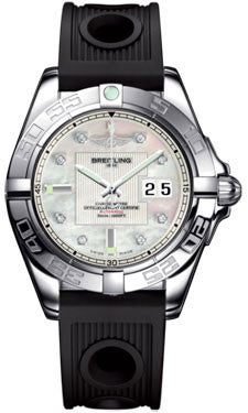 Breitling,Breitling - Galactic 41 Stainless Steel - Ocean Racer Strap - Watch Brands Direct