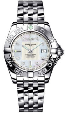 Breitling,Breitling - Galactic 32 Stainless Steel - Pilot Bracelet - Watch Brands Direct
