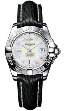 Breitling,Breitling - Galactic 32 Stainless Steel - Sahara Strap - Watch Brands Direct