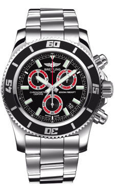 Breitling,Breitling - Superocean Chronograph M2000 Stainless Steel Bracelet - Watch Brands Direct