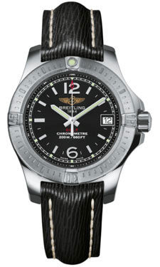 Breitling,Breitling - Colt Lady Sahara Leather Strap - Watch Brands Direct