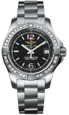 Breitling,Breitling - Colt Lady Diamond Bezel - Professional III Bracelet - Watch Brands Direct