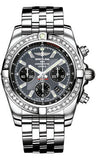 Breitling,Breitling - Chronomat 44 Steel 40 Diamond Bezel - Pilot Bracelet - Watch Brands Direct