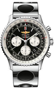 Breitling,Breitling - Navitimer 01 43mm - Stainless Steel - Air Racer Bracelet - Watch Brands Direct