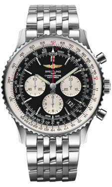 Breitling,Breitling - Navitimer 01 46mm - Stainless Steel - Navitimer Bracelet - Watch Brands Direct