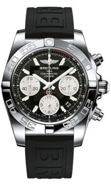 Breitling,Breitling - Chronomat 41 Steel Polished Bezel - Diver Pro III Strap - Watch Brands Direct