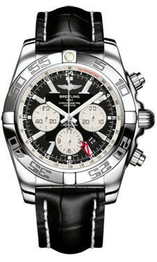 Breitling,Breitling - Chronomat GMT Croco Strap - Watch Brands Direct