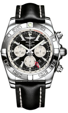 Breitling,Breitling - Chronomat GMT Leather Strap - Watch Brands Direct