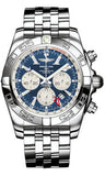 Breitling,Breitling - Chronomat GMT Stainless Steel Bracelet - Watch Brands Direct