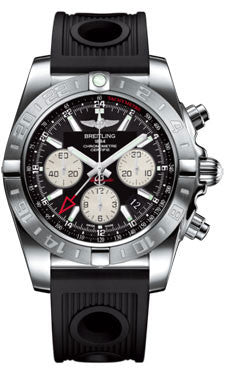 Breitling,Breitling - Chronomat 44 GMT Stainless Steel on Diver Pro II - Watch Brands Direct