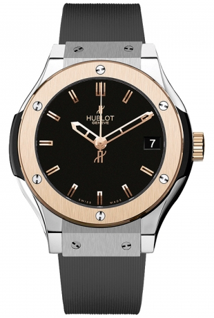 Hublot,Hublot - Classic Fusion 33mm Titanium And King Gold - Watch Brands Direct