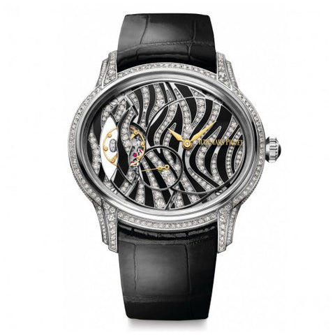 Audemars Piguet - Millenary - White Gold and Diamonds - Watch Brands Direct
