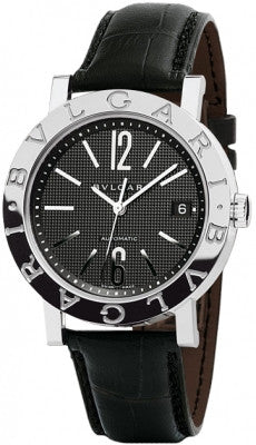Bulgari,Bulgari - BVLGARI Automatic 38mm - Stainless Steel - Watch Brands Direct