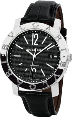 Bulgari,Bulgari - BVLGARI Automatic 42mm - Stainless Steel - Watch Brands Direct