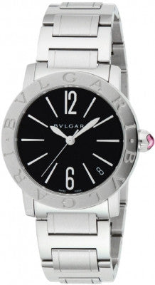 Bulgari,Bulgari - BVLGARI Automatic 33mm - Stainless Steel - Watch Brands Direct