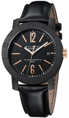 Bulgari,Bulgari - BVLGARI CarbonGold Automatic 40mm - Watch Brands Direct