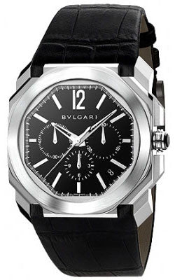 Bulgari,Bulgari - Octo VELOCISSIMO Chronograph 41mm - Stainless Steel - Watch Brands Direct