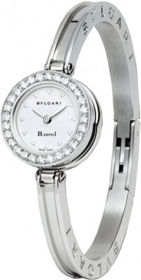 Bulgari,Bulgari - B.zero1 Quartz 22mm - Stainless Steel and Diamonds - Short Length Clasp - Watch Brands Direct