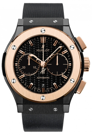 Hublot,Hublot - Classic Fusion 45mm Chronograph - Ceramic And King Gold - Watch Brands Direct