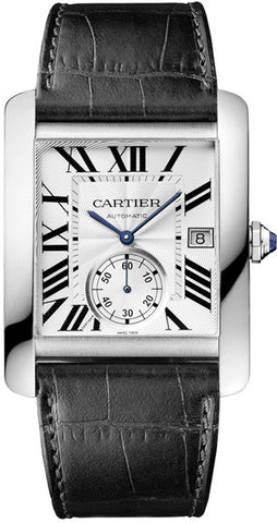 Cartier,Cartier - Tank MC Stainless Steel - Watch Brands Direct